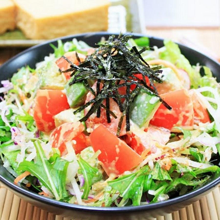 профессиональным японский салат картинки если раздатке треск