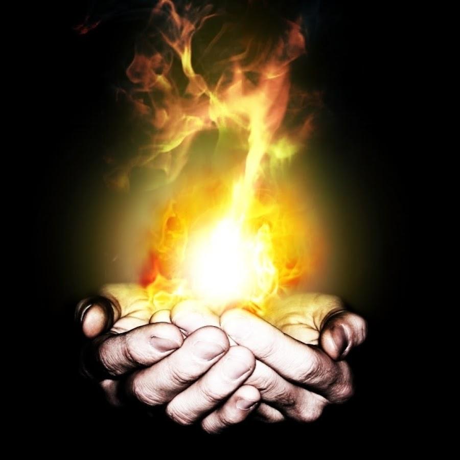 Картинки на руке огонь