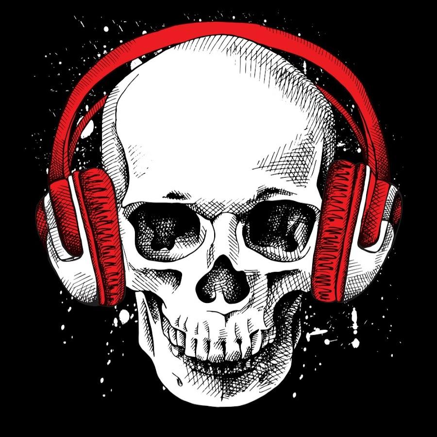 Музыкальный череп картинки