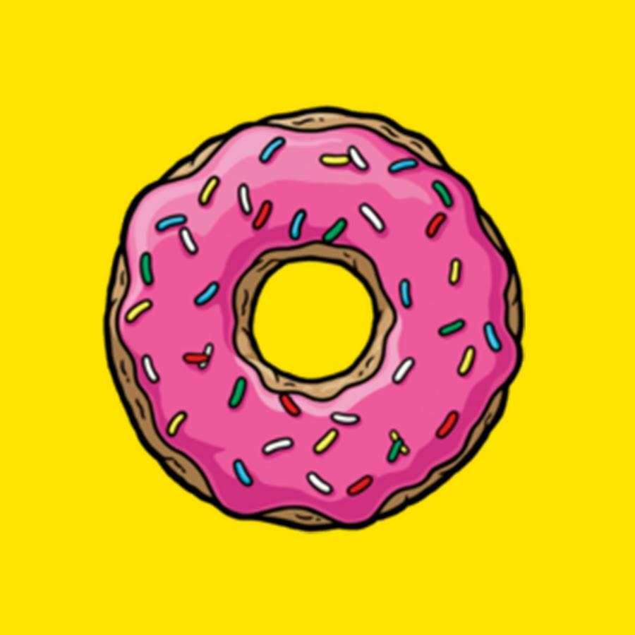 езды обои пончики симпсоны животных