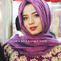 Hijab Tutorial and Makeup with Nuzhat