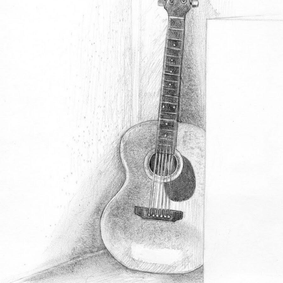 Прикольные рисунки гитары выбрал