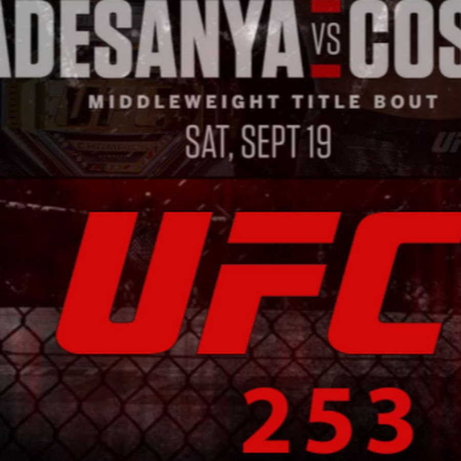 UFC 253 Live Stream Free Online - YouTube