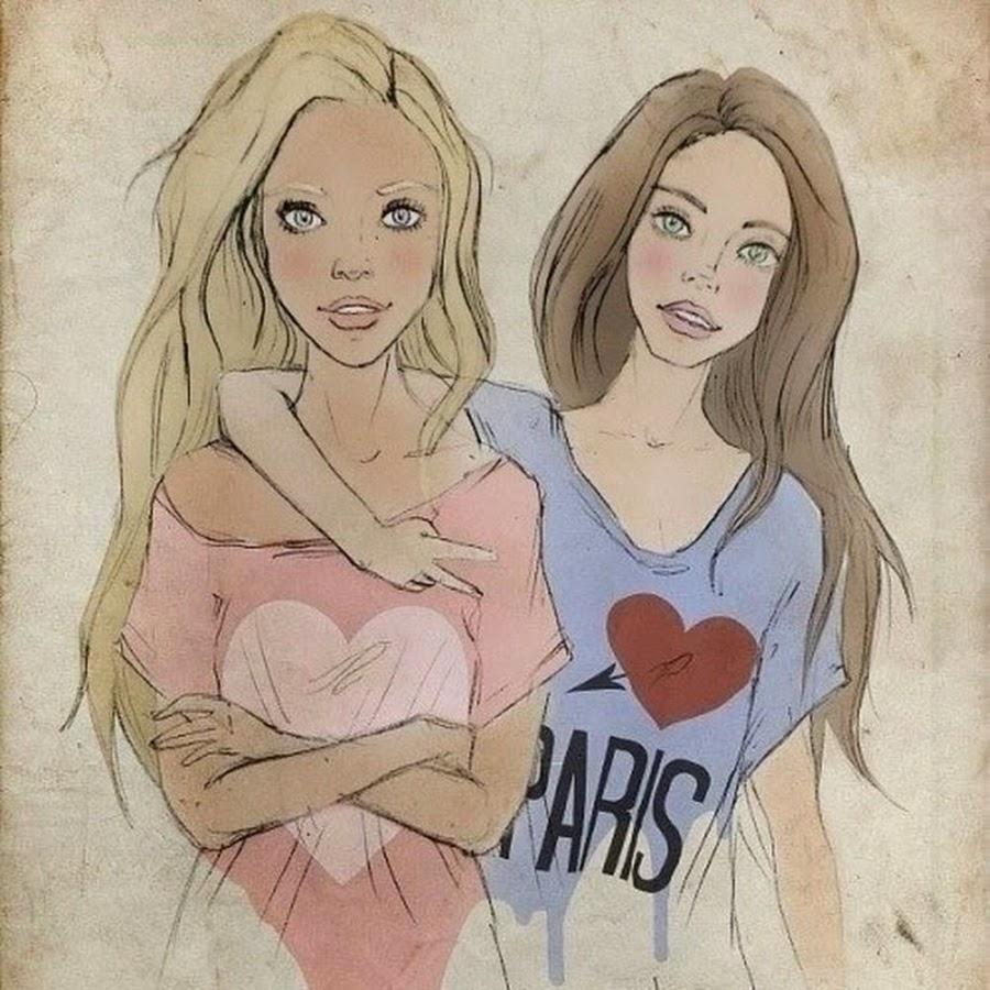 Картинки подруге на стенку