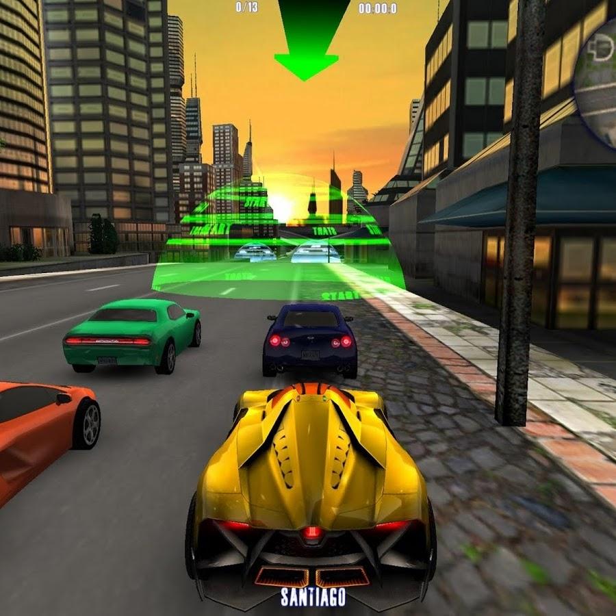 Игры машины с людьми город