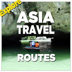 Asia Travel Routes