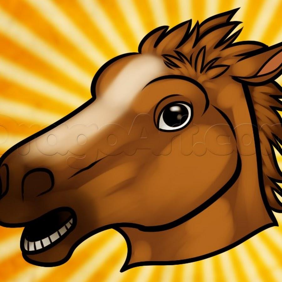 Голова лошади для детей картинки