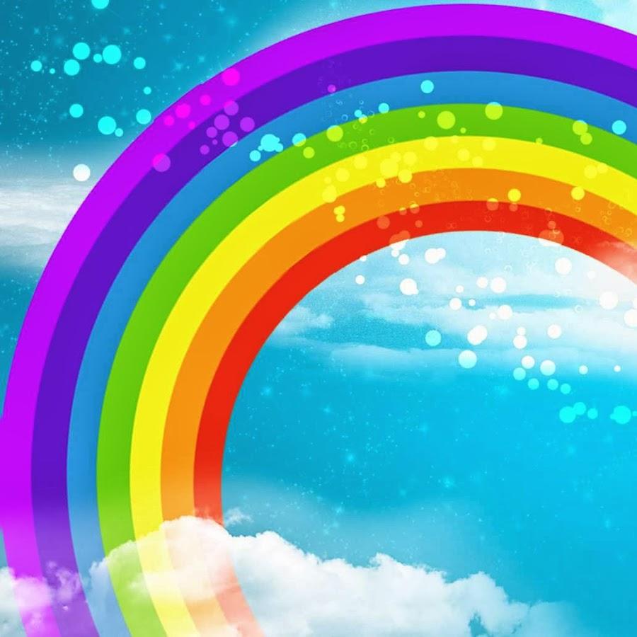 Картинка радуга из рекламы