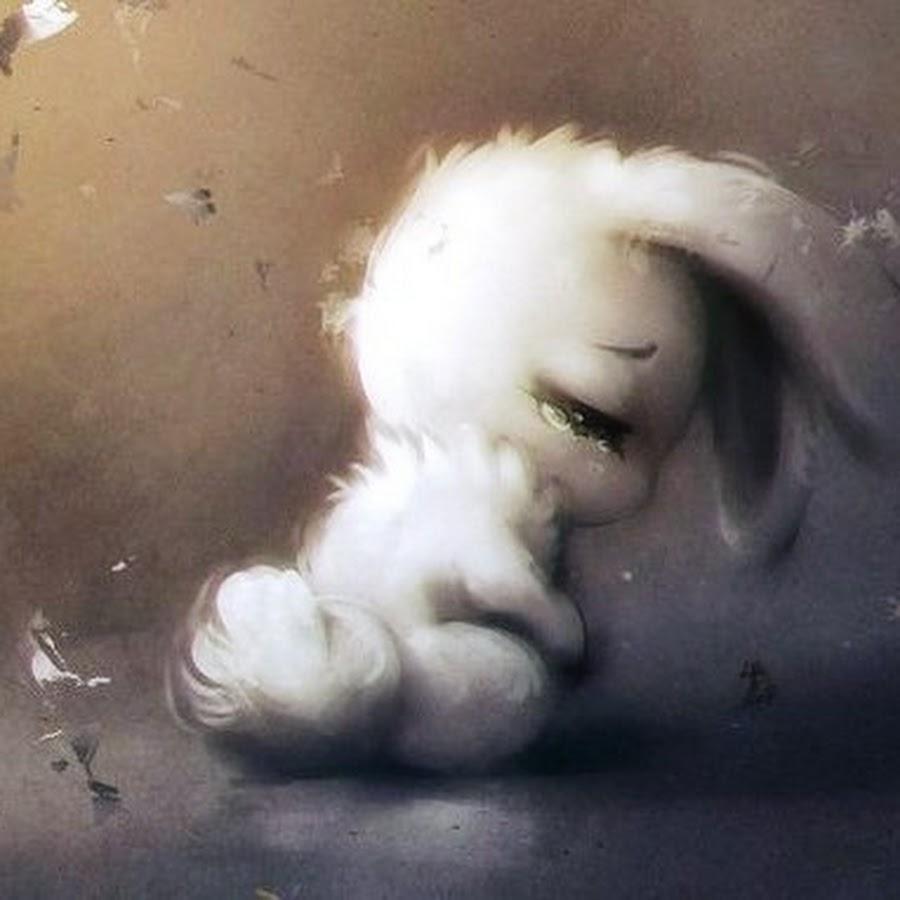 позже, картинка плачущего зайки словам камалии