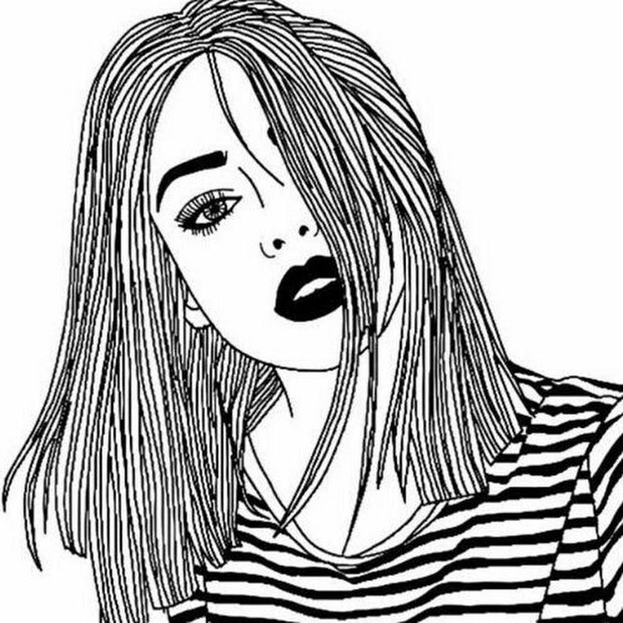 Картинки для лд срисовки волосы