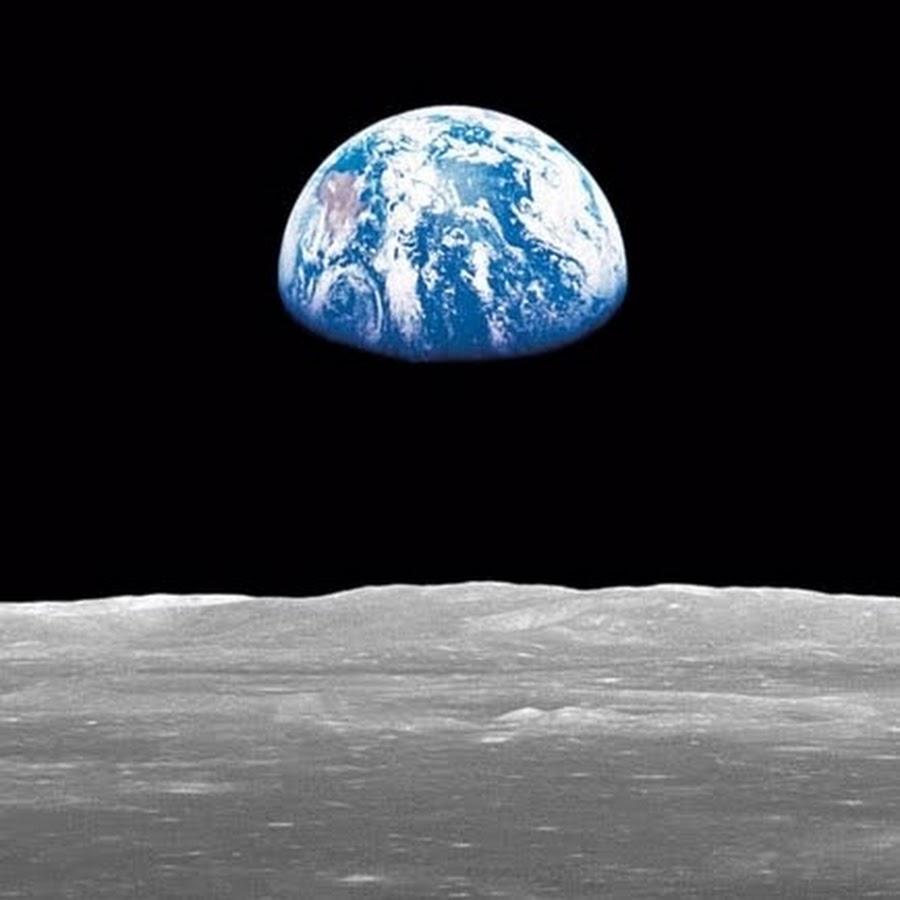 Как выглядит земля с луны фото настоящие