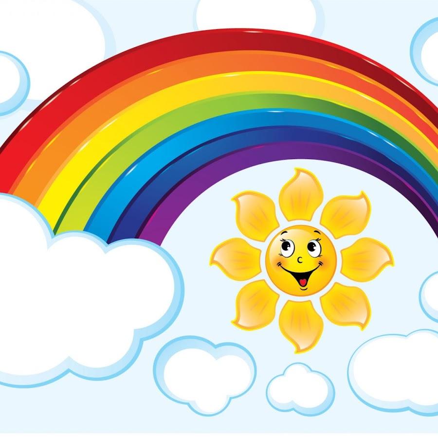 светового картинки с радугой и солнцем и детьми выпекают