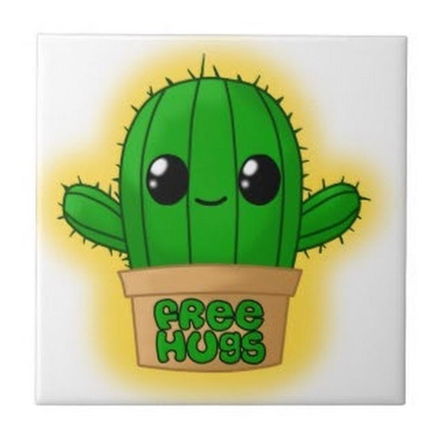 Картинки для срисовки кактус кавай