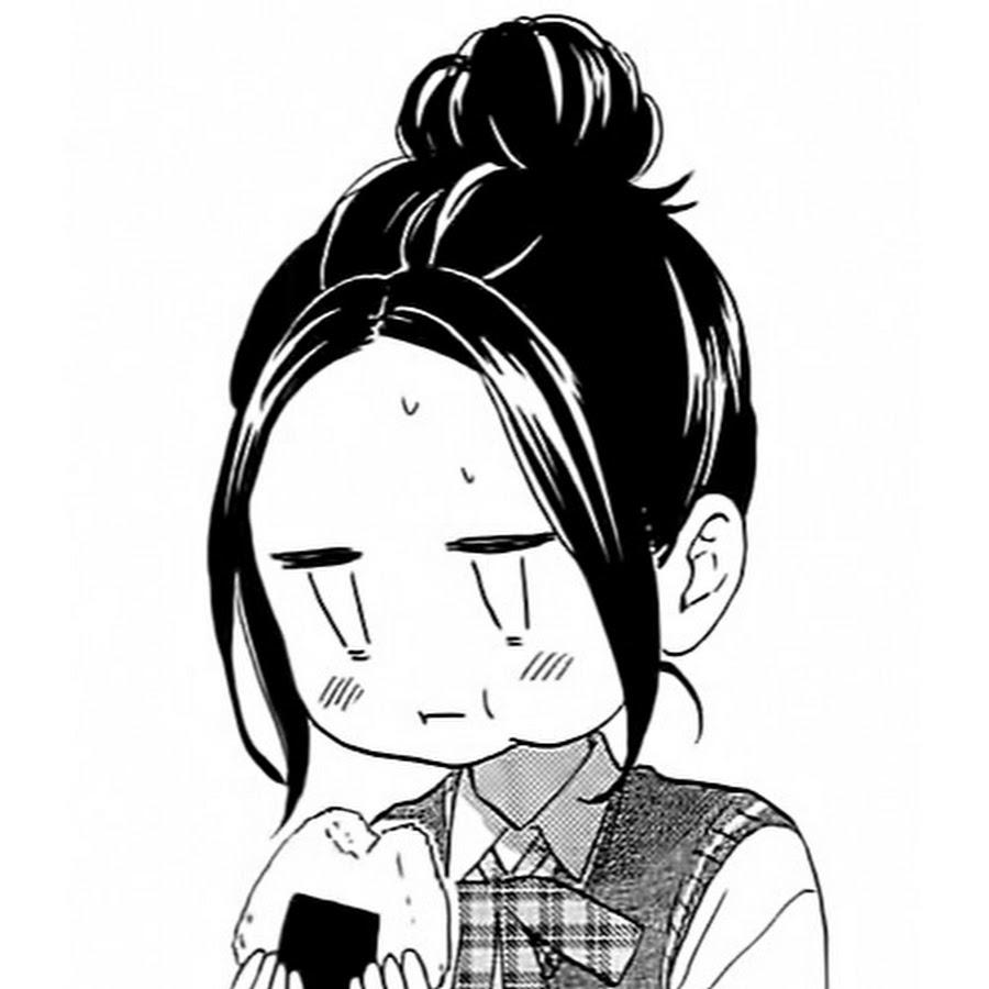 Веселые аниме картинки черно белые