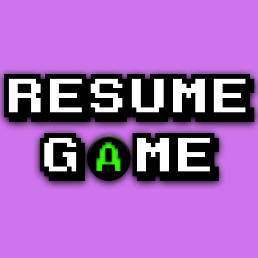 Resume Game Youtube