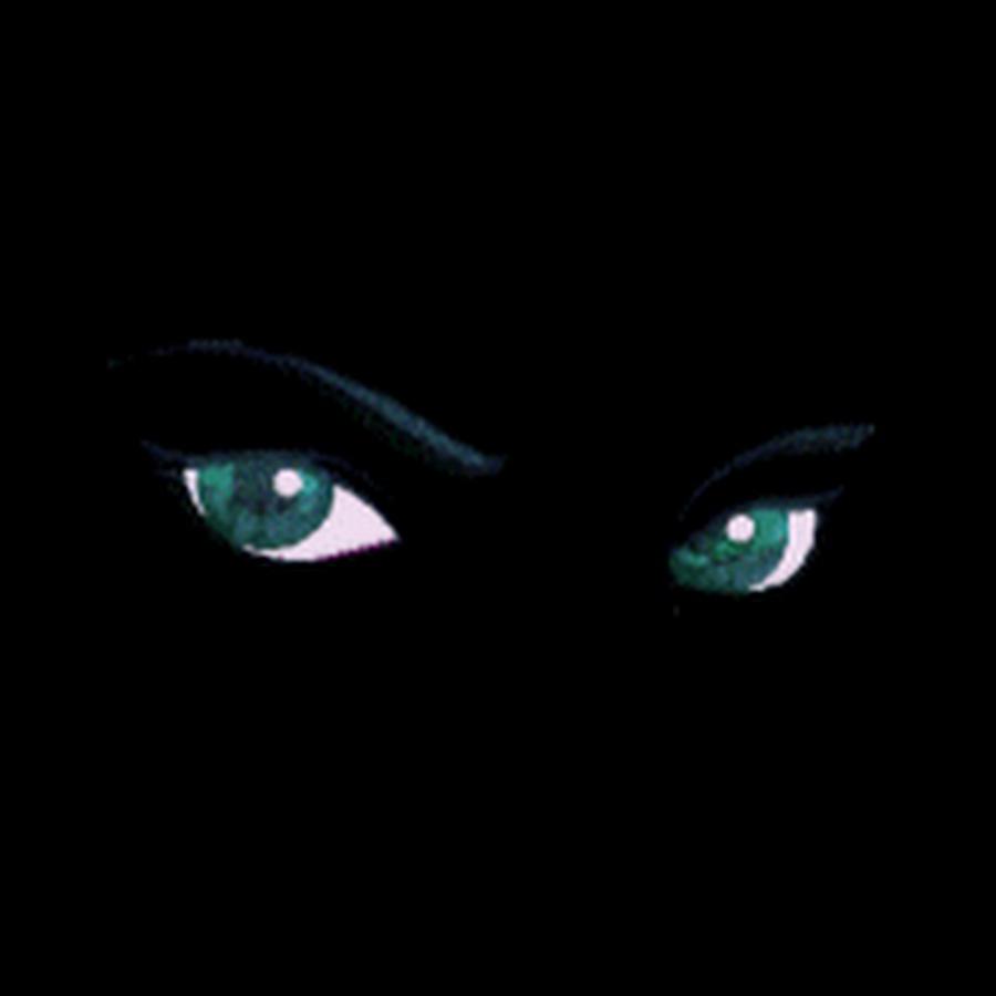 Глаза в темноте анимация