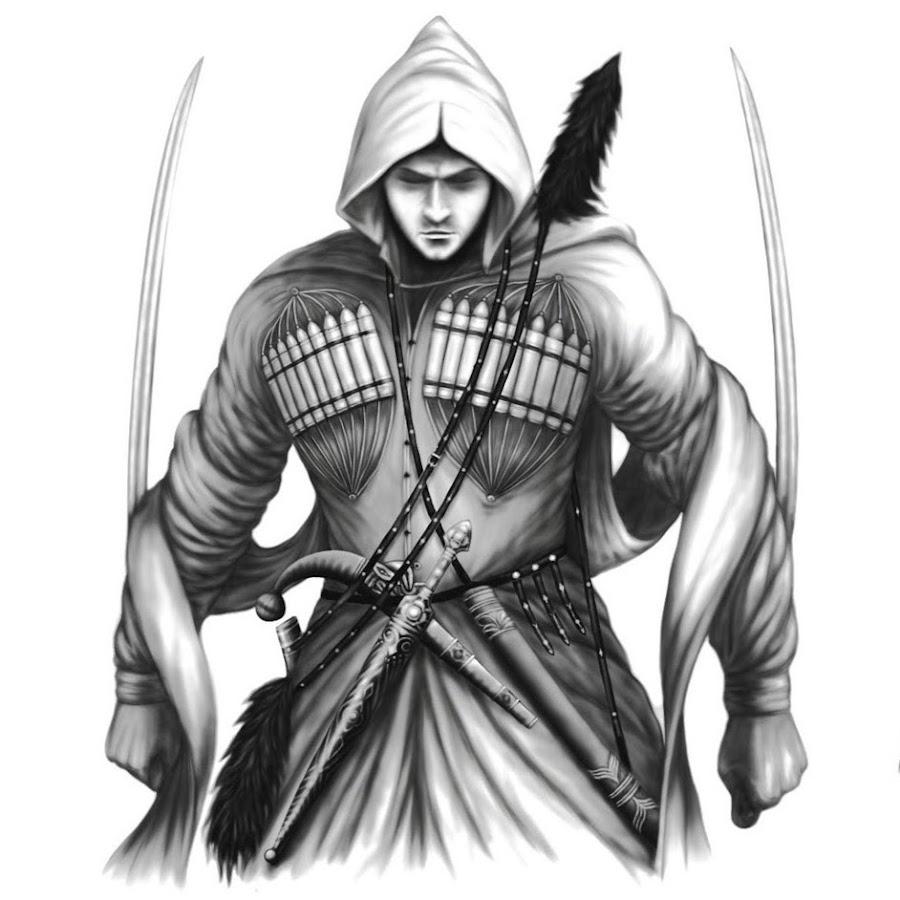 Воин черкес картинки