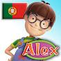 Alex, desenhos animados educacionais