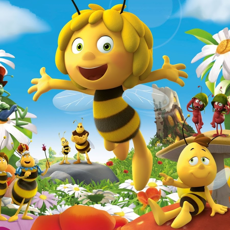 Приключения пчелки майи с картинками универсальный