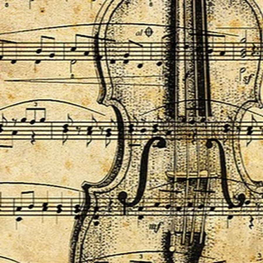 Винтажные картинки скрипки
