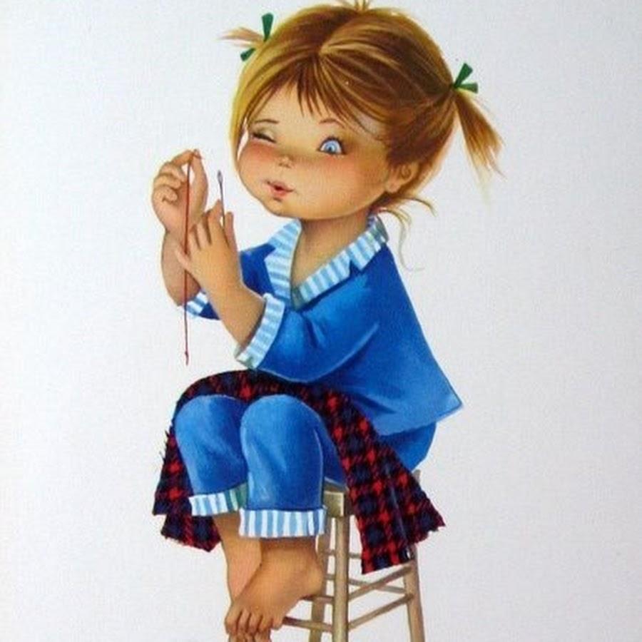Девочка рукодельница картинка