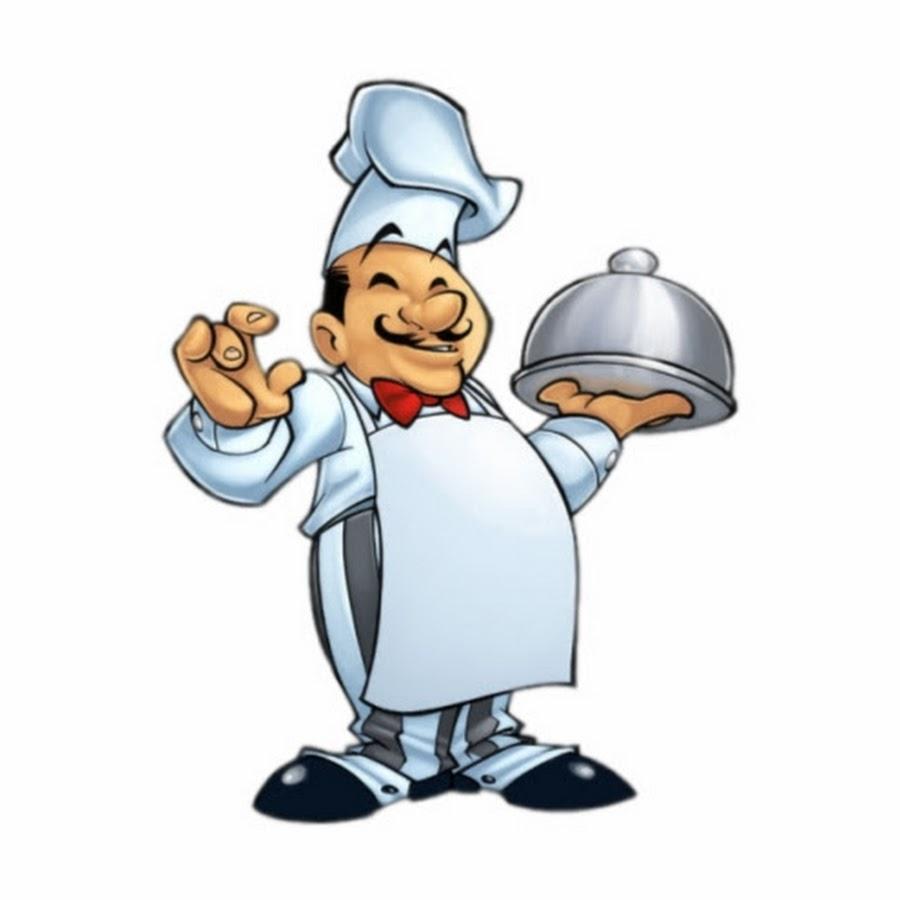 Картинки мультяшки повар