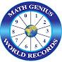 Math Genius World Records