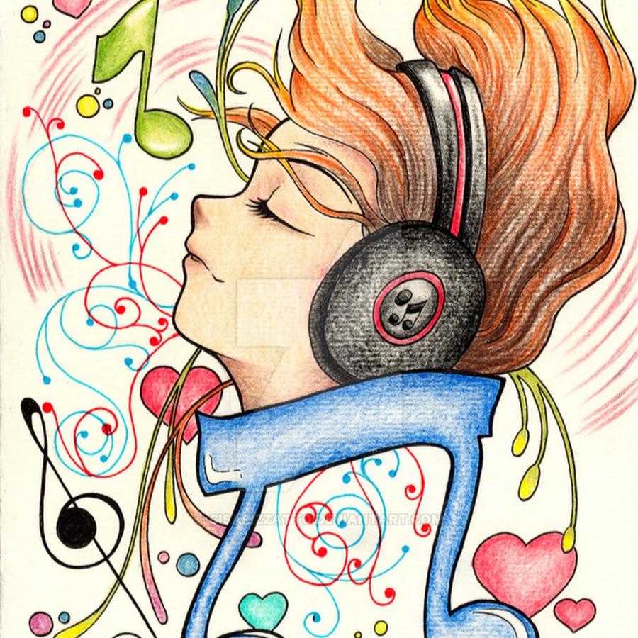 картинка для лд я люблю музыку режиме