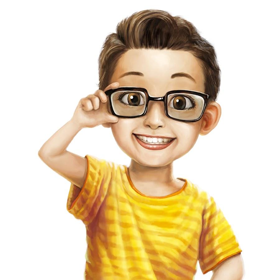 картинка мультяшка в очках