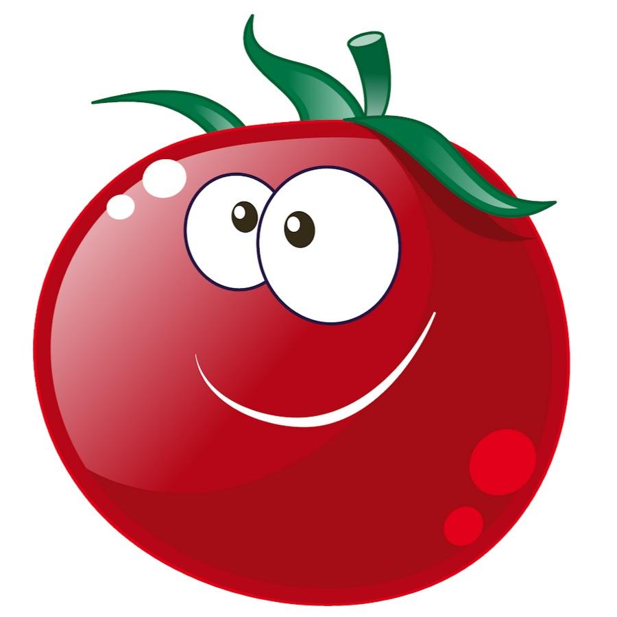 Картинки помидорка с глазками