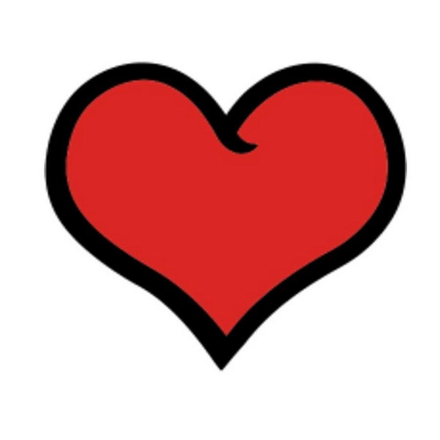 Мультяшное сердечко картинка