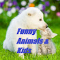 Funny Animals and Kids