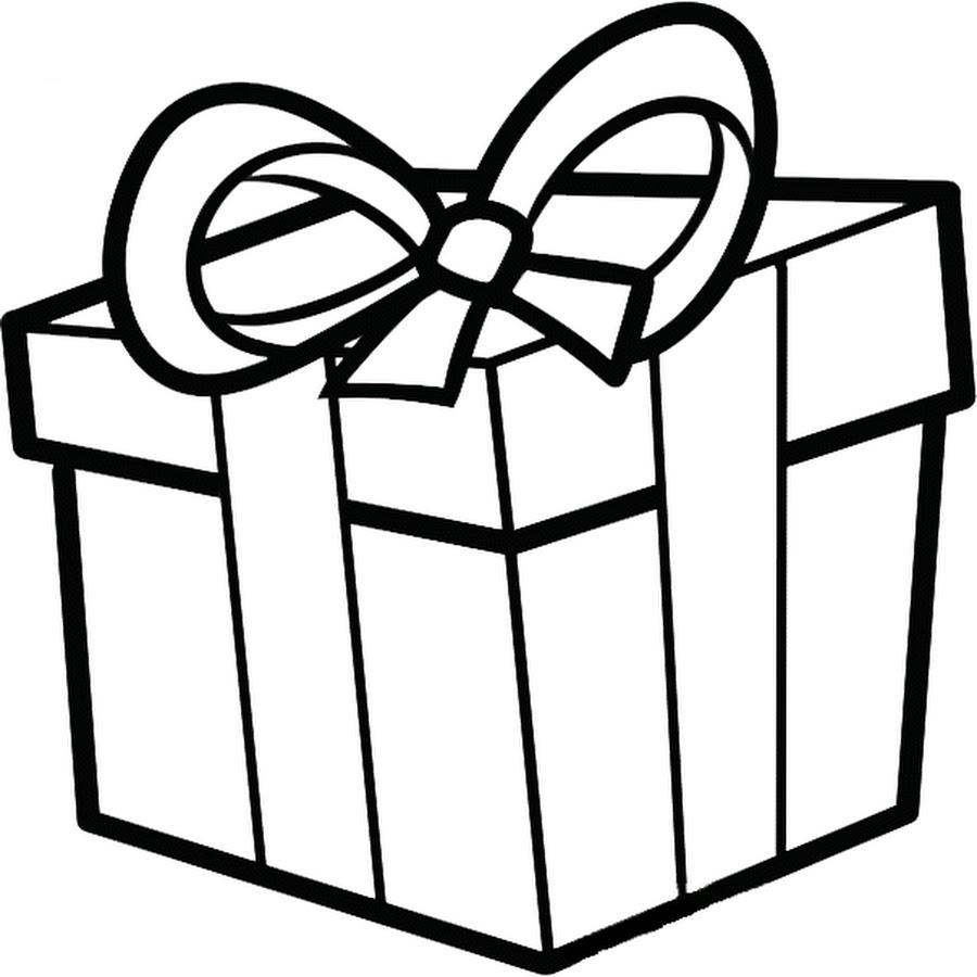 Картинки подарков на день рождения для срисовки