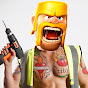 Clash Of Clans With Barbarian
