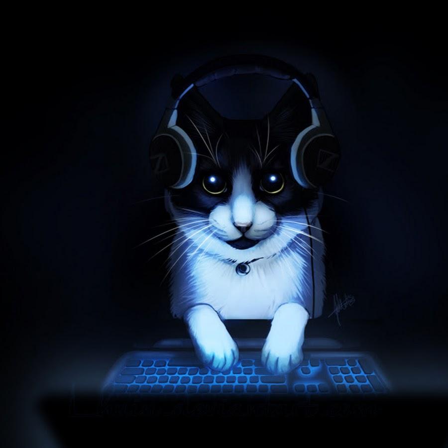 Картинки крутого кота в наушниках
