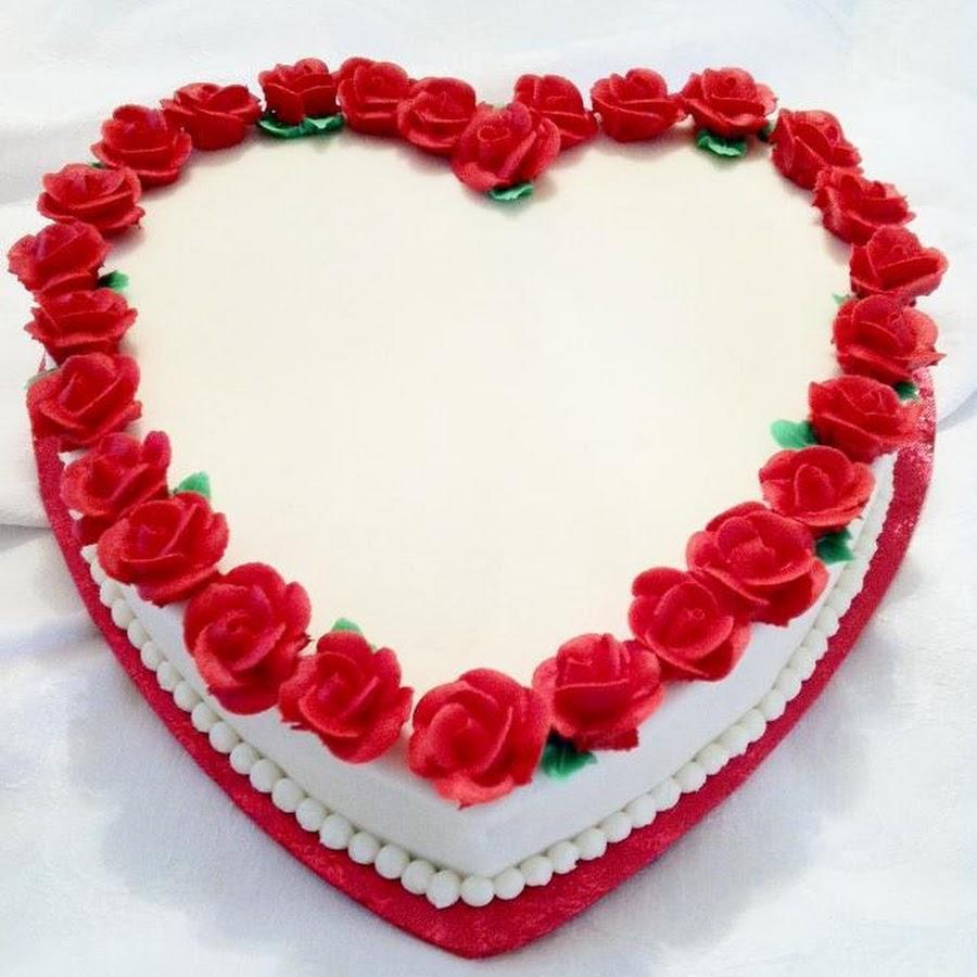торты в виде сердца фото день для поздравлений