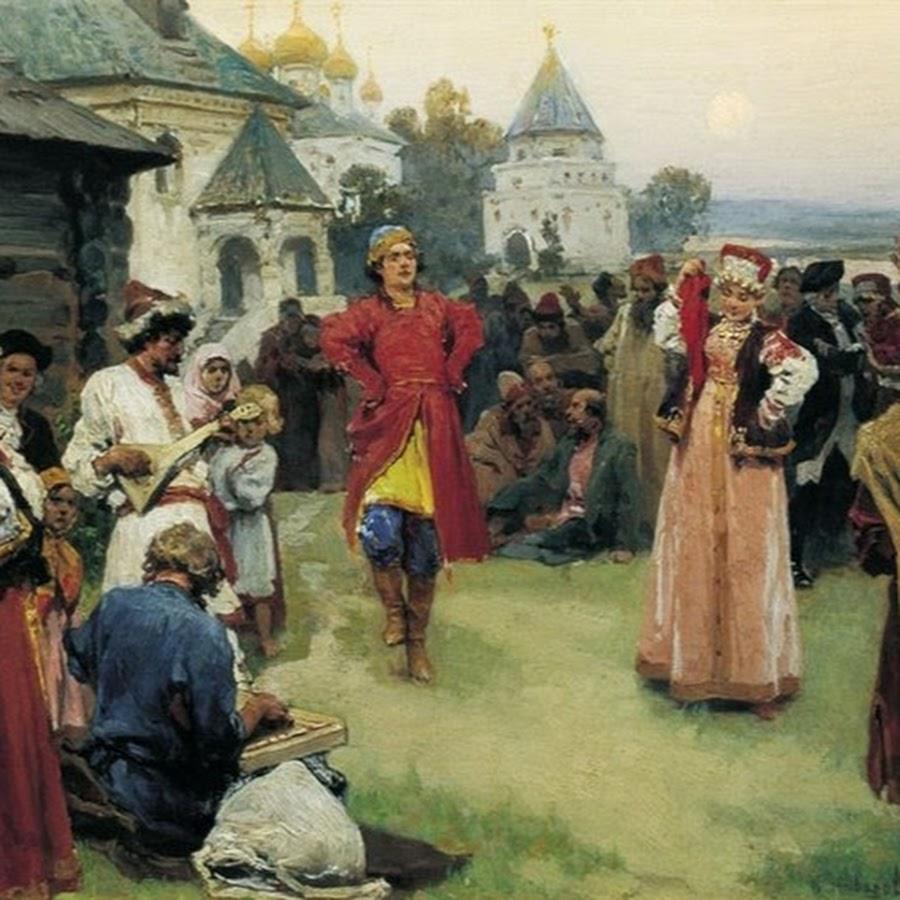 Картинки народного творчество в древней руси