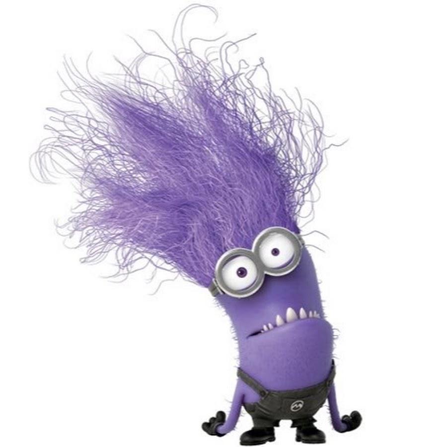 злой фиолетовый миньон картинка отдельная