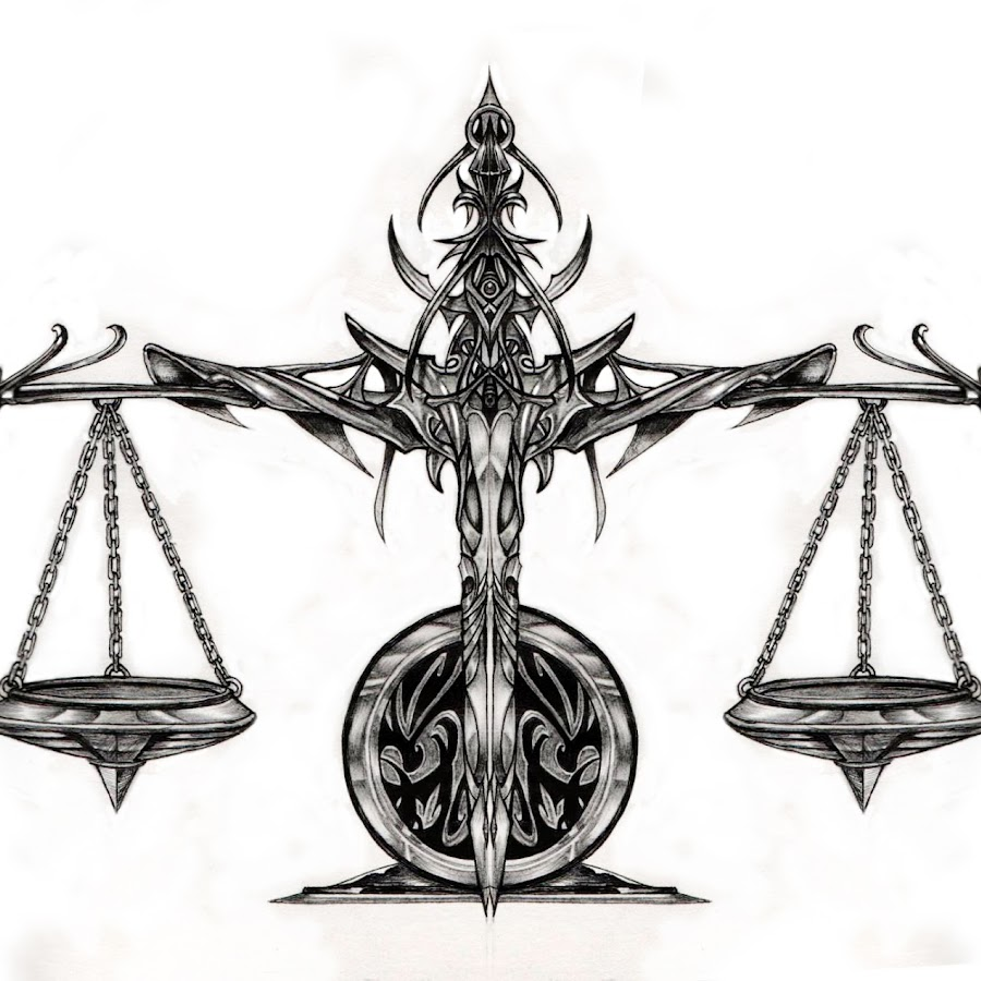 Тату картинки знак зодиака весы