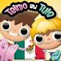 Telmo y Tula, caricaturas animadas