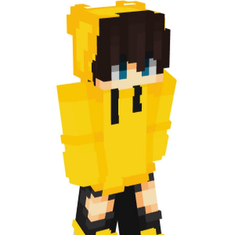 желтий скин для майнкрафт #3