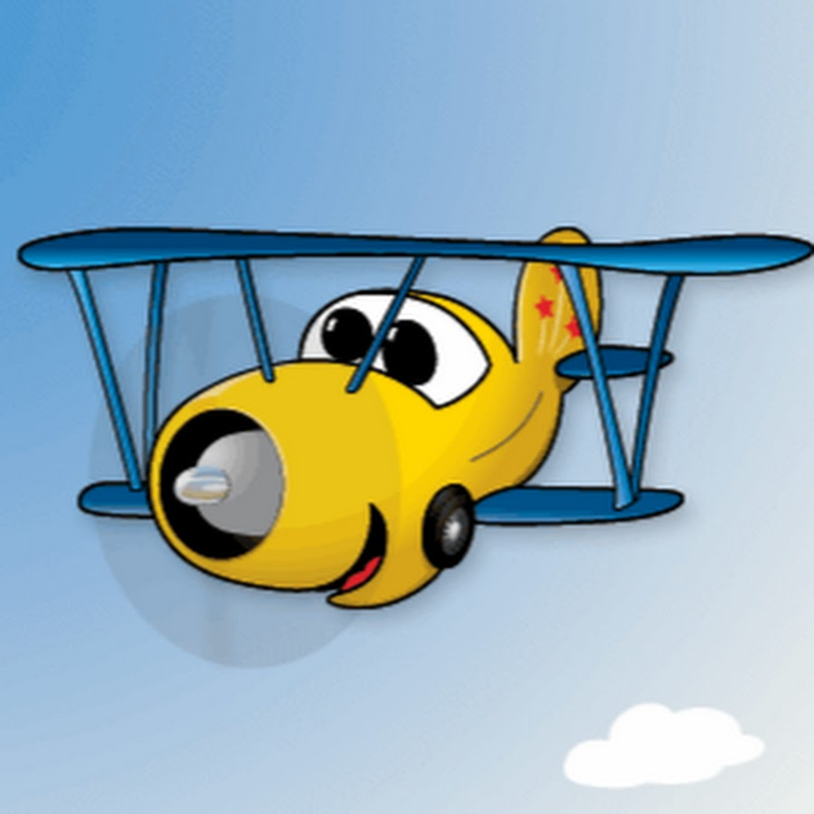 Картинка анимация самолета
