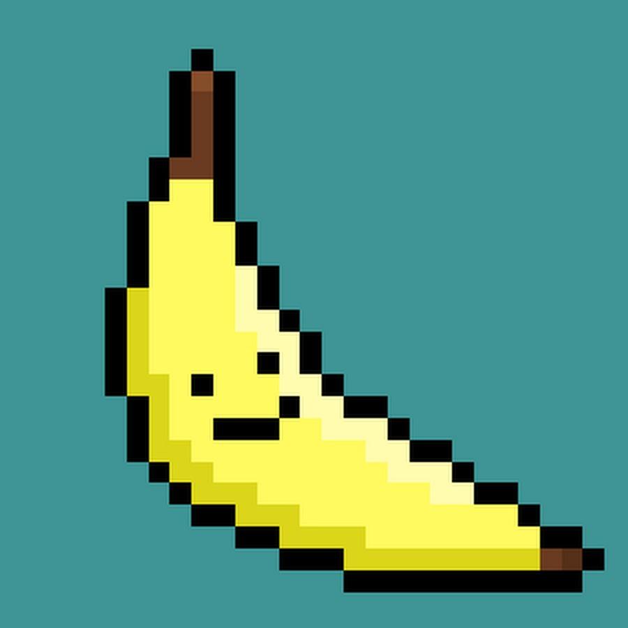 Картинка банан в майнкрафте