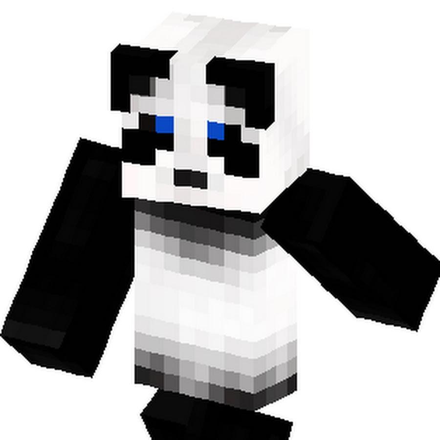 скин панды в кепке для майнкрафт #11