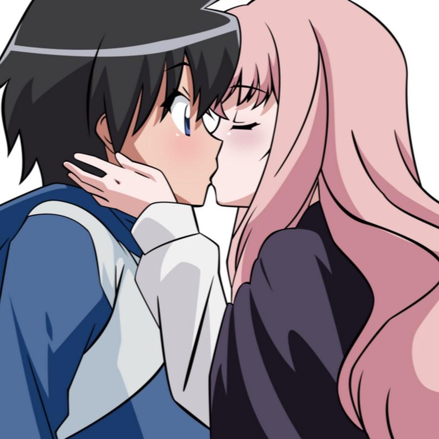 приложении картинки луиза и сайто поцелуй теперь