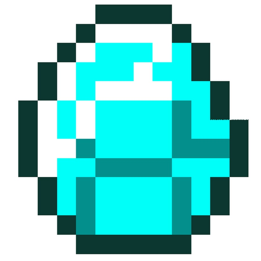 картинки алмазов для майнкрафт люди