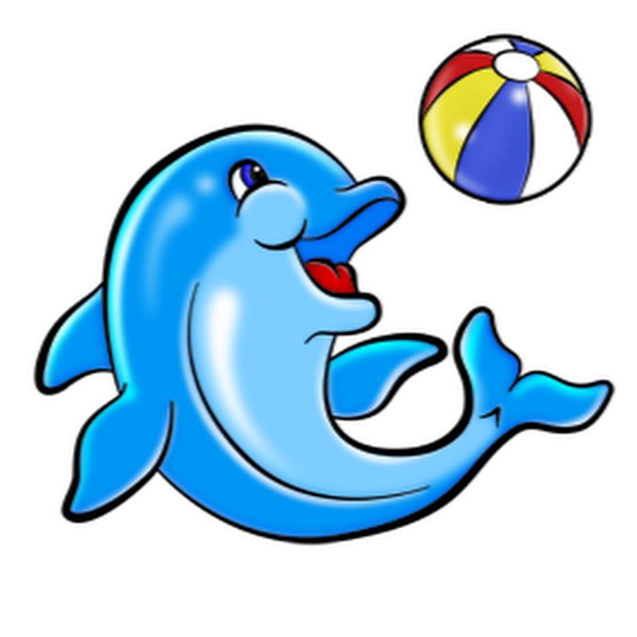 картинки дельфинчиков с мячом смак этой передачи