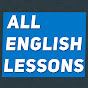 All English Lessons — build your vocabulary