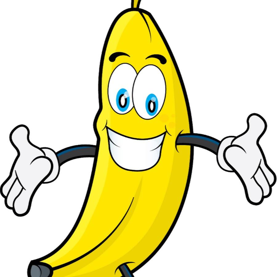 Картинка нарисованный банан