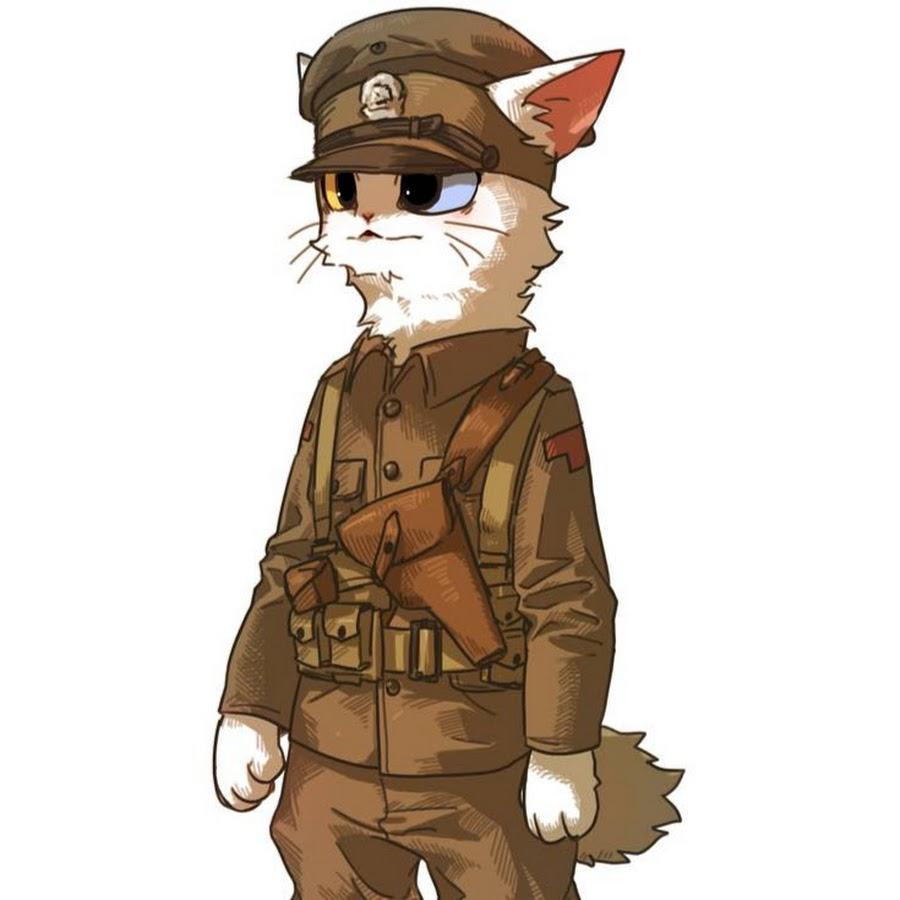 Картинки кота солдата убирают, слегка